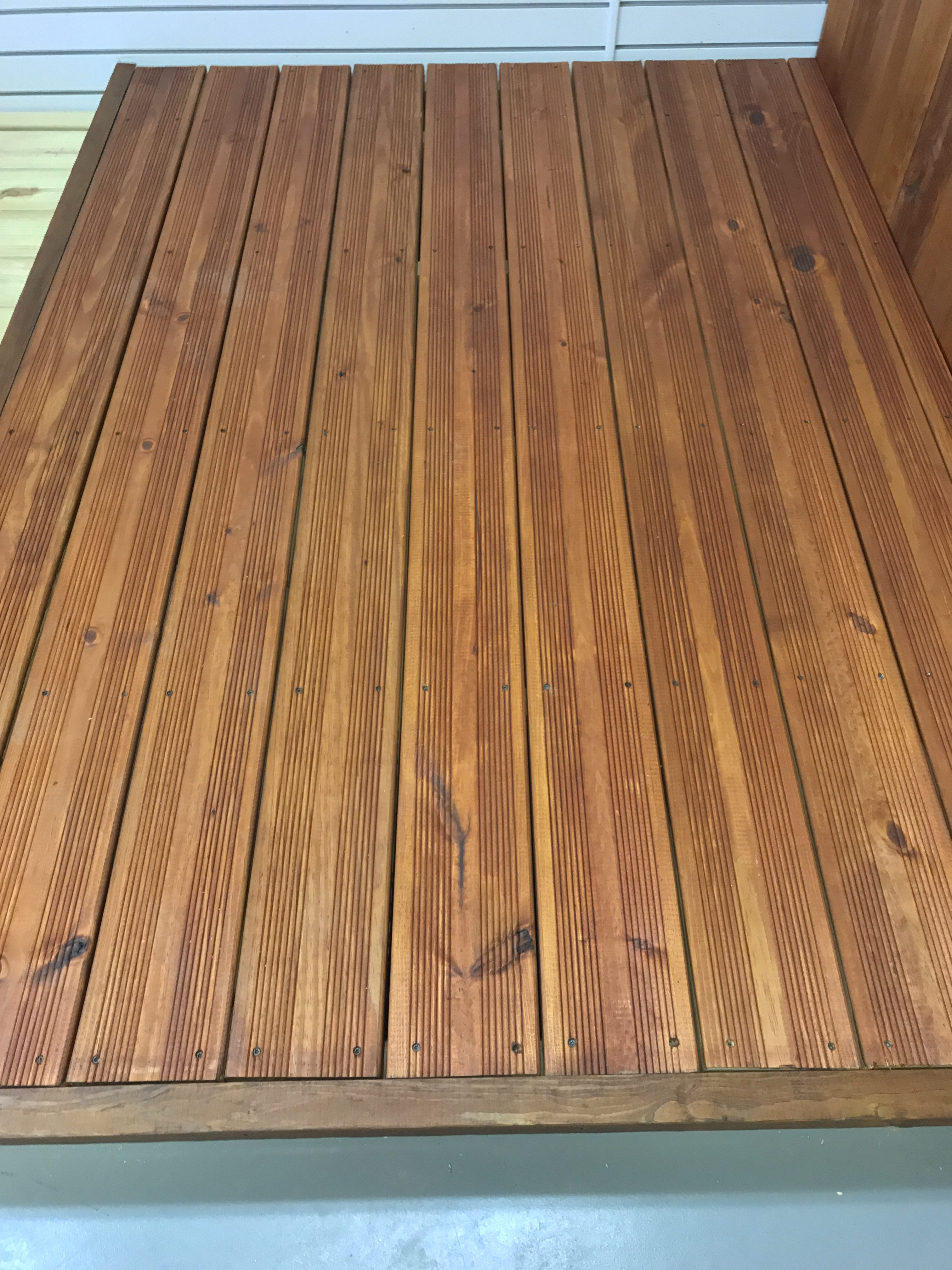 bed Top Thick Decking – Jordan Lumber Products